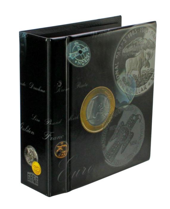 Album pentru monede coperta captusita - Artline Compact-7811 [0]