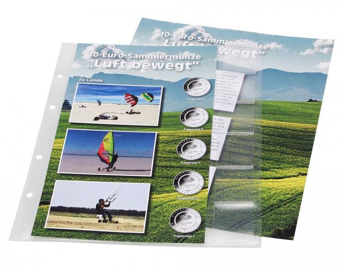Album Premium pentru monede de 10 euro Bundesrepublik Deutschland - Air Moves-7416 [5]