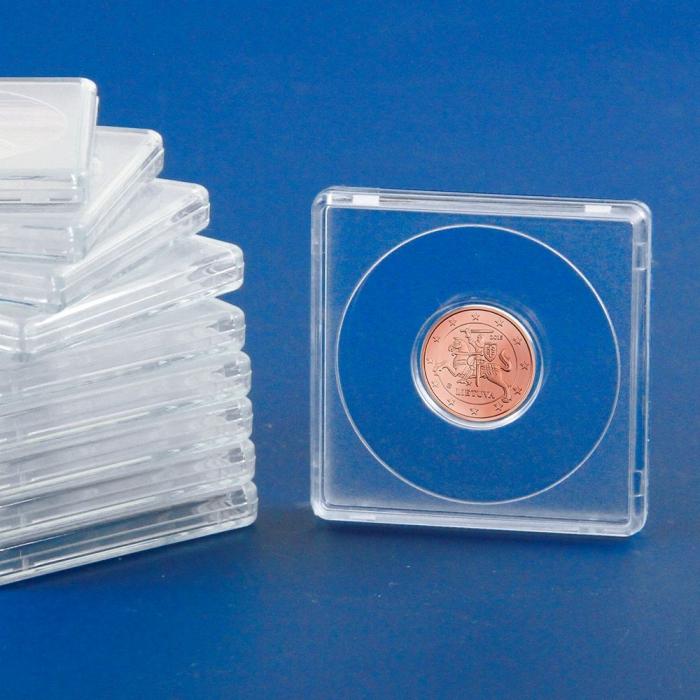 Capsule patrate 50 x 50 mm pentru monede de 23 mm-3123pa [0]