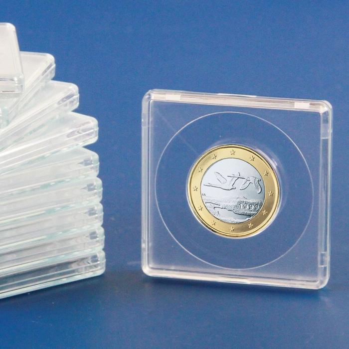 Capsule patrate, 50 x 50 mm pentru monede de 25 mm-3125 [0]
