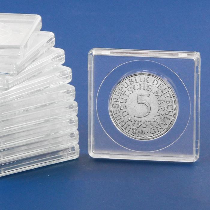 Capsule patrate 50 x 50 mm pentru monede de 31 mm-3131pa [0]