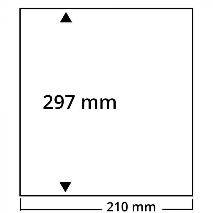 Coala de carton alb A4 fara perforatie - 25 buc. [0]