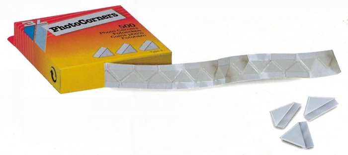 Colturi adezive transparente de 19 mm - 250 buc-1832 [0]