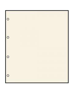 Set 10 foi blanc cu 4 gauri [0]
