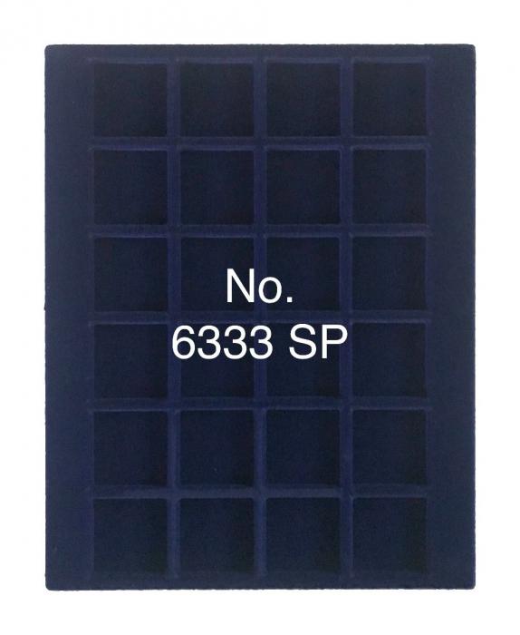 Cutie din lemn, Nova Exquisite, pentru 24 monede de 33 mm-6833 [1]
