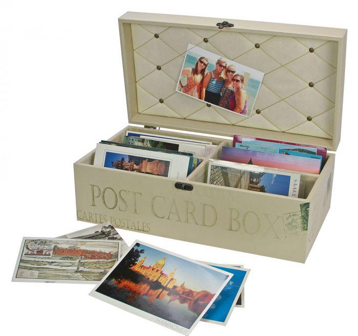 """Cutie din lemn pentru carti postale """"Retro"""" [2]"""