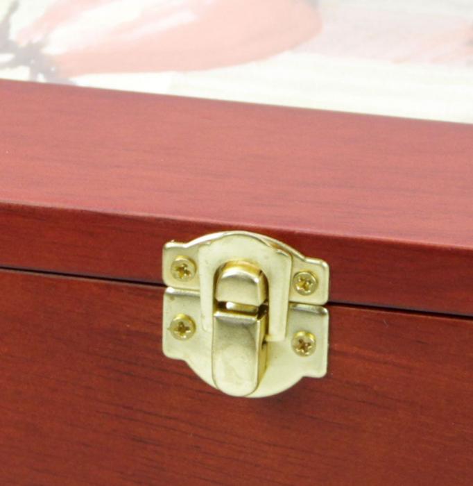 Cutie din lemn pentru fotografii, carti postale, scrisori-5870 [1]