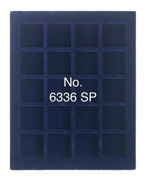 Cutie din piele pentru 20 x 36mm monede - NOVA deLuxe 1