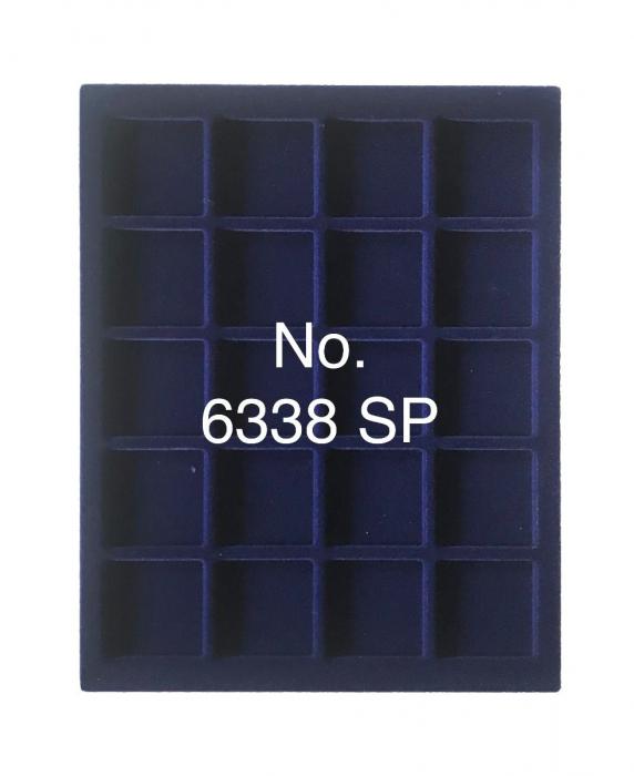 Cutie din piele pentru 20 x 38mm monede - NOVA deLuxe 1
