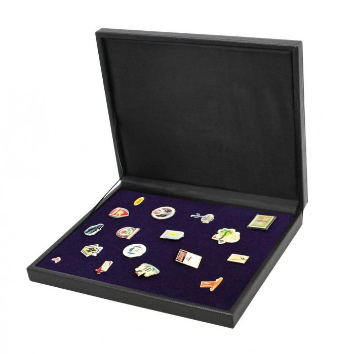 Cutie din piele pentru pini, insigne, medalii - NOVA deLuxe 1