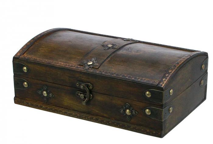 Cutie mica din lemn pentru bijuterii - Maxi-3153 [0]