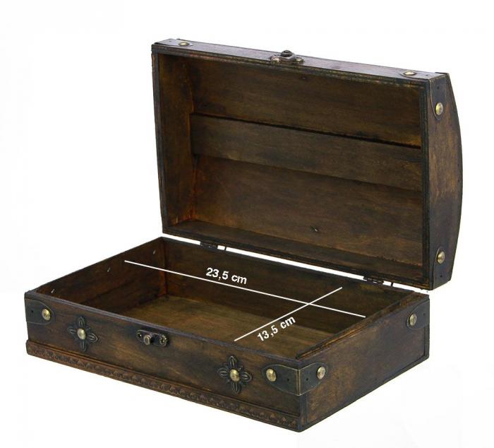 Cutie mica din lemn pentru bijuterii-3154 [1]