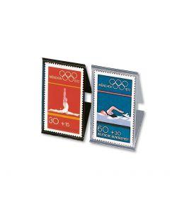 Straifuri pentru timbre, transparente - 200 x 41 mm (12 buc) - 641 [0]