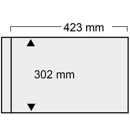 Folie A3 cu 1 buzunar - 423 x 302 mm pentru Albumul A3 1020-1021pa [0]