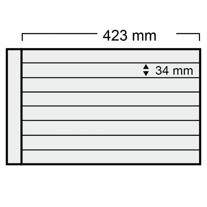 Folie A3 cu 4 buzunare - 423 x 34 mm pentru Albumul A3 1020-1028pa [0]