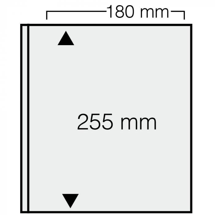 Set 10 Folii transparente cu 1 buzunar pentru bancnote - ARTline-safe1276PA [0]