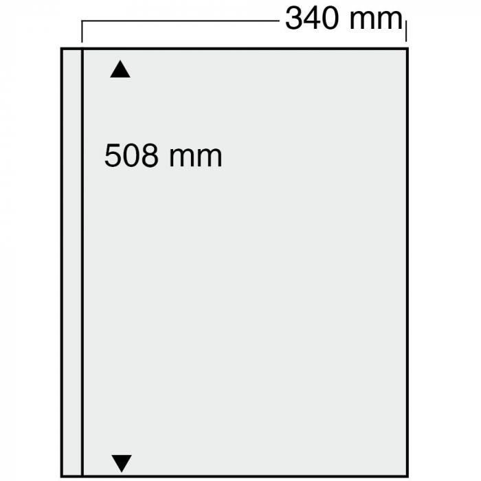 Folii transparente cu 1 buzunar pentru albumul Jumbo-6051pa [0]