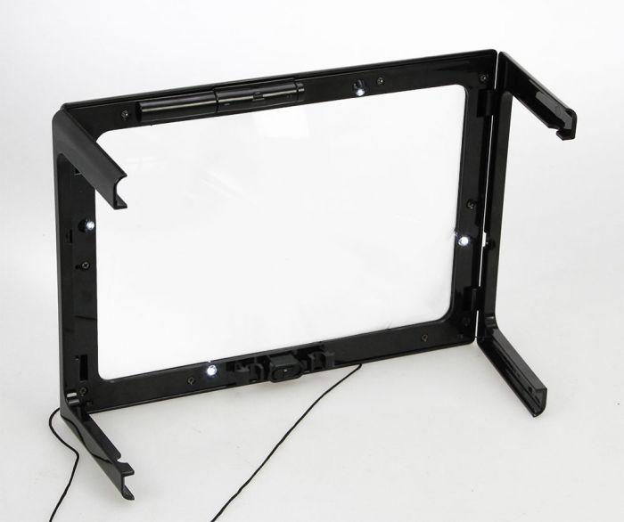 Lupa plata cu lumina LED tip masuta [2]