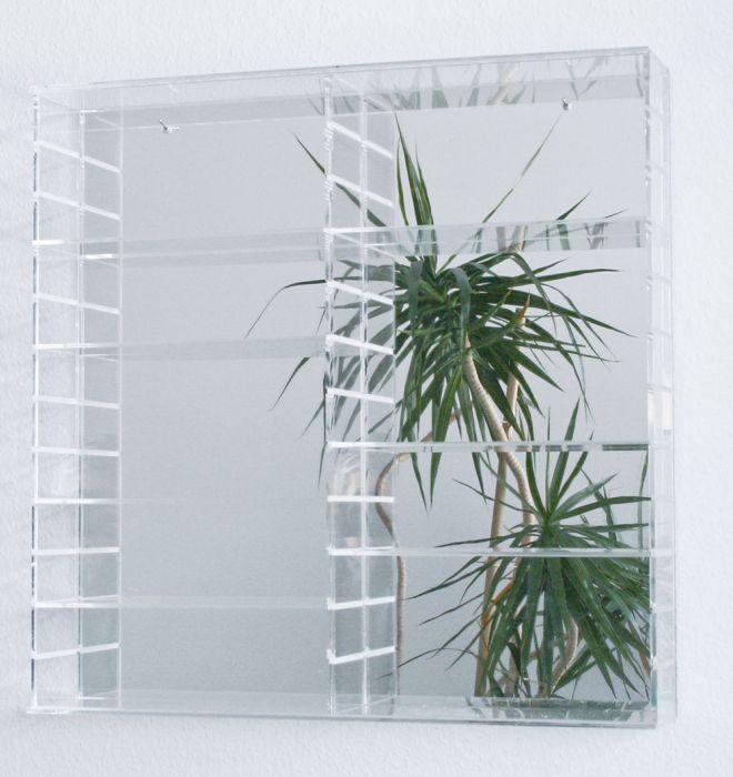 Oglindă de sticlă pentru vitrină 60x60 [0]