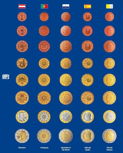 Foaie preimprimata pentru monede - 5 buc [1]