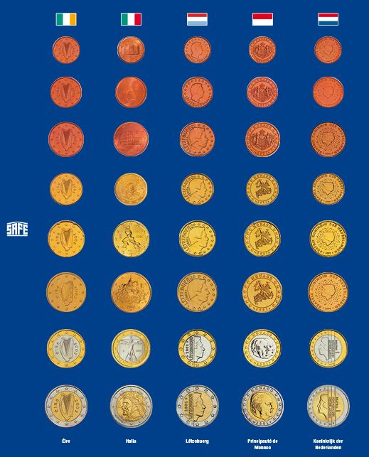 Foaie preimprimata pentru monede - 5 buc [4]