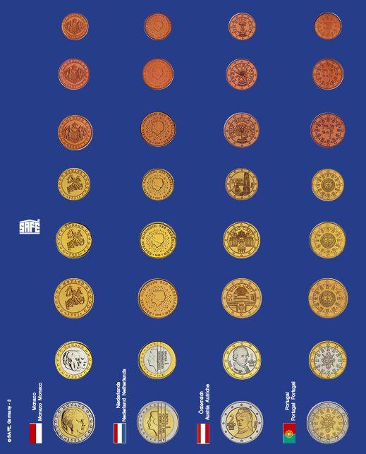Pagini pentru seturi de monede euro in capsule - 6 buc 4