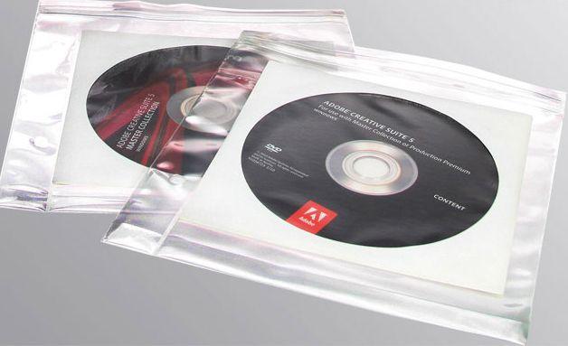 Plicuri transparente pentru CD/DVD - 5 buc [0]