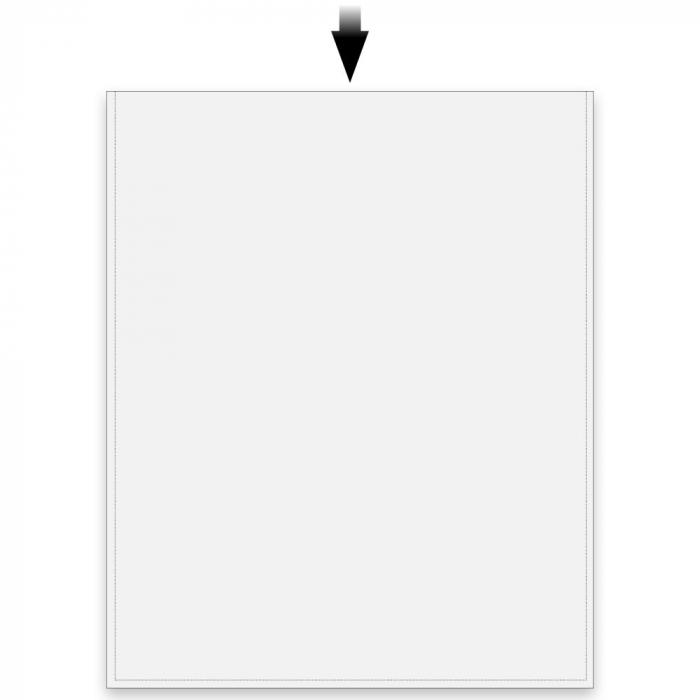 Posete transparente pentru carti postale - 50 buc [0]