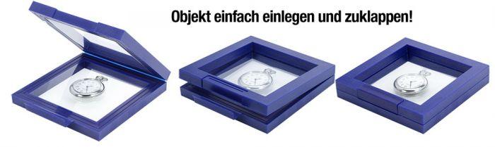 Rama albastra cu efect 3D - 100 x 100 mm (interior)-4501 [2]