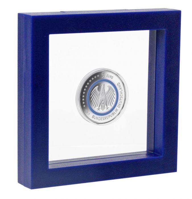 Rama albastra cu efect 3D - 100 x 100 mm (interior)-4501 [0]