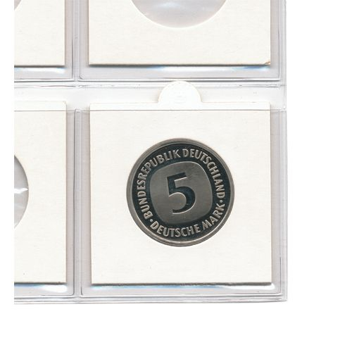 Cartonase autoadezive pentru monede de 27,5 mm - 25 buc-7828 [1]