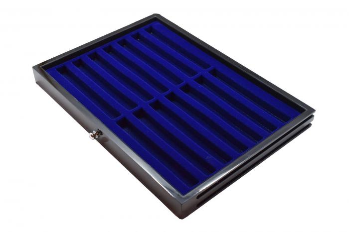 Sertar lemn inaltime 25 mm, Black Lacquer, pentru instrumente de scris-5908-1 [1]