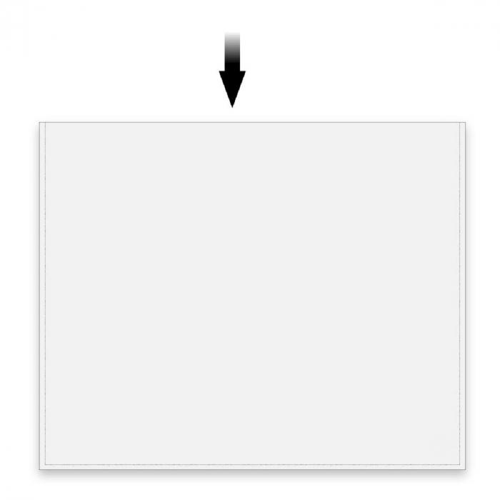 Posete transparente pentru bancnote, A4 - 210 x 310 mm-9292 [0]
