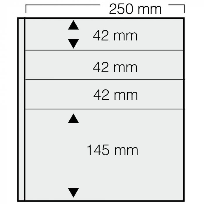 Set 5 foi de insertie transparente Garant [0]