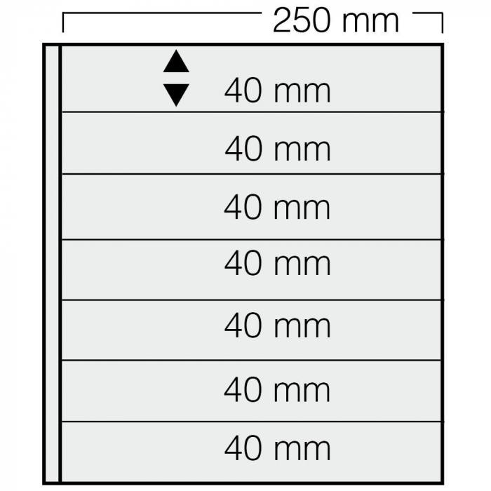 Set 5 folii de insertie Garant - alb [0]