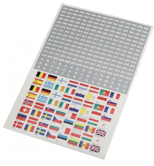 Steagurile Lumii - stickere autoadezive [0]