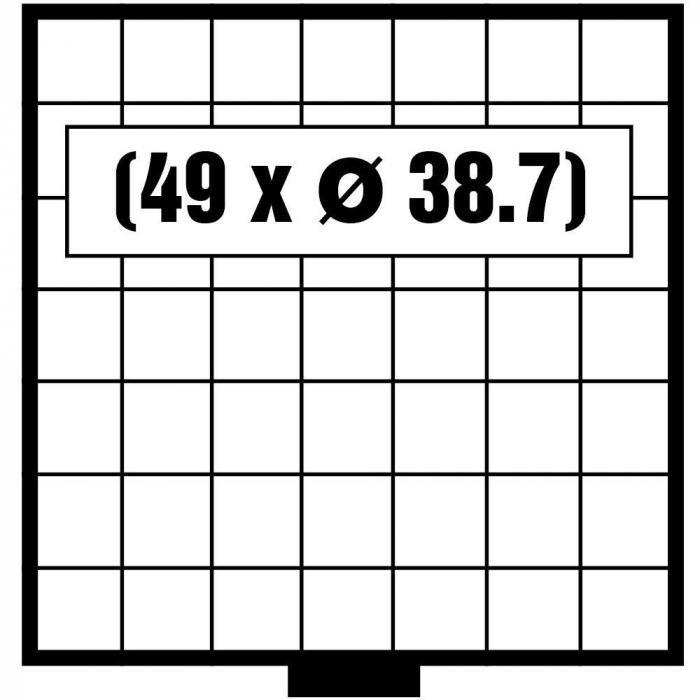 Tava monede, Maxi, 49 x 38,7 mm-6607 [0]