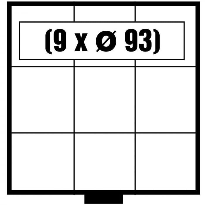 Tava monede, Maxi, 9 x 93 mm-6603 [0]