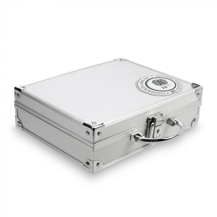 Valiza aluminiu pentru monede 10 euro in capsule - Aer - 294 [0]