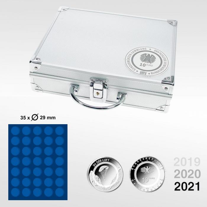 Valiza aluminiu pentru monede 10 euro in capsule - Aer - 294 [2]