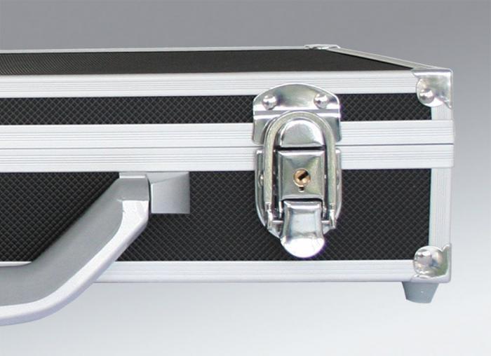 Valiza aluminiu pentru monede in capsule slabs - Black Diamond-290 [2]