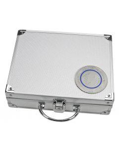 Valiza din aluminiu cu 6 tavi pentru monede fara capsule [0]