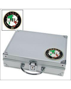 """Valiza din aluminiu cu insigna """"Italia"""" [0]"""