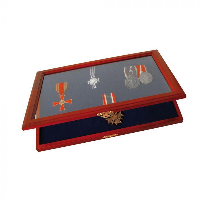 Vitrina din lemn pentru decoratii militare, medalii-5873 [0]