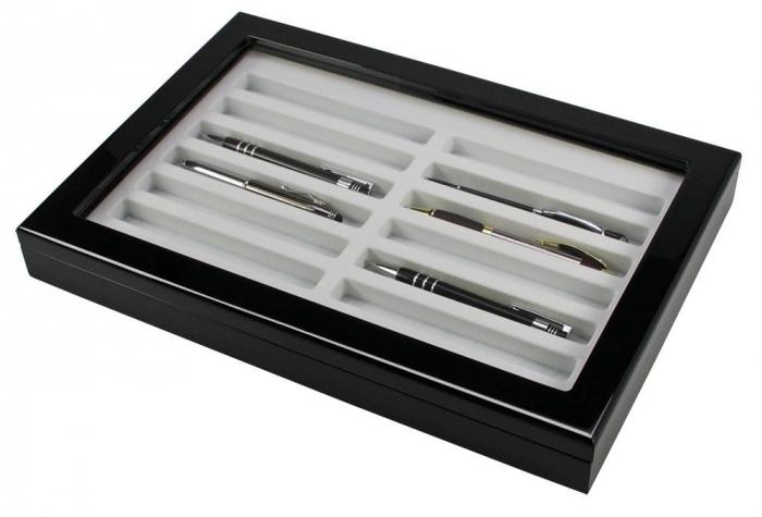 Vitrină din lemn pentru instrumente de scris - 5908 [0]