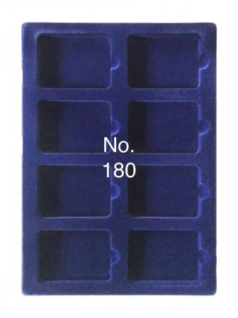 Tavi in catifea albastra pentru valize - 327 x 227 mm0