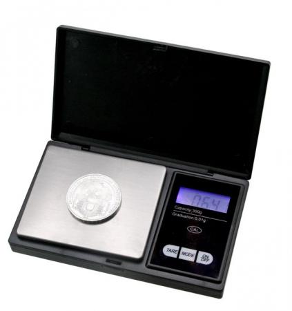 Cantar digital pentru monede 1/100 g0