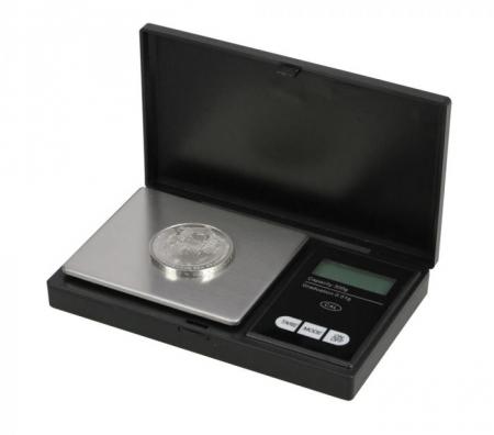 Cantar digital pentru monede 1/100 g1