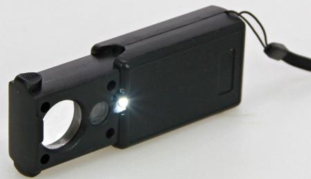 Lupa cu lumina LED si Lampa UV - 30x-60x0