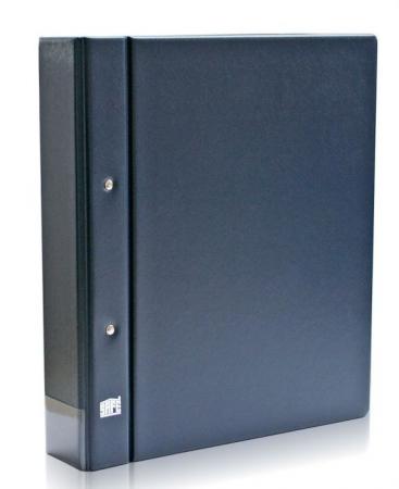 Clasor, Album, Coperta cu inele, Albastru - Compact A4-safe480 [0]
